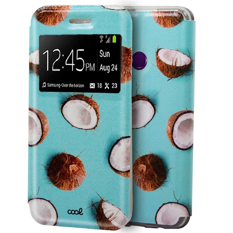 Funda Flip Cover Huawei Y6p Dibujos Cocos