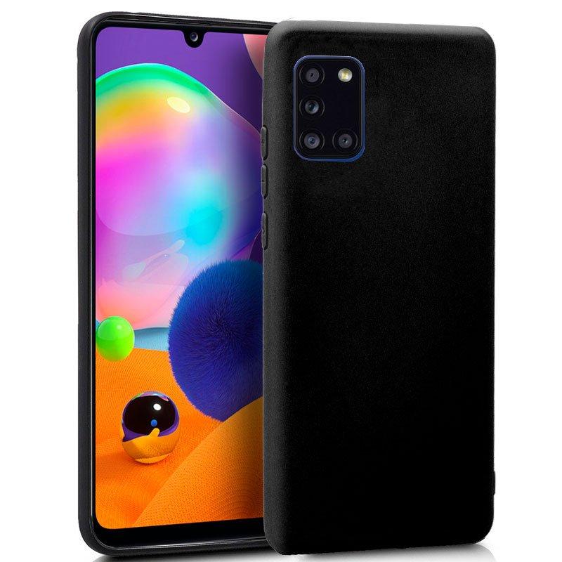 Funda Silicona Samsung A315 Galaxy A31 (Negro)