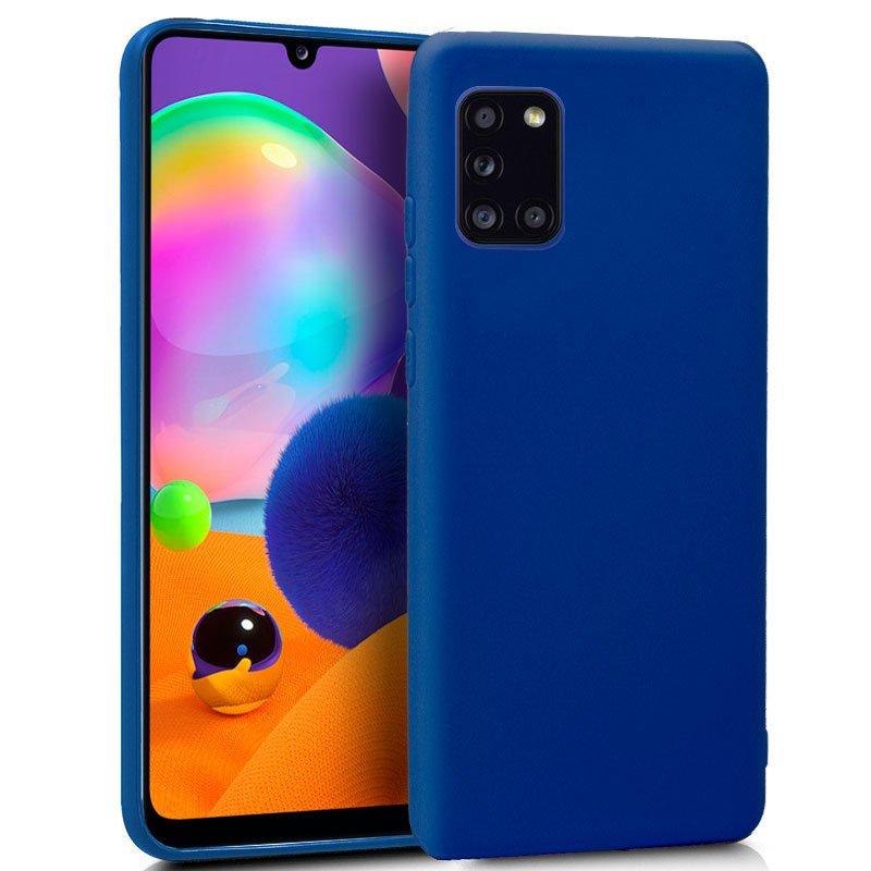 Funda Silicona Samsung A315 Galaxy A31 (Azul)