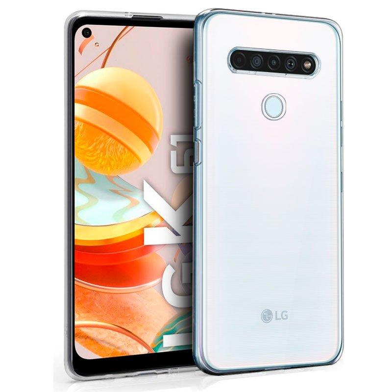 Funda Silicona LG K61 (Transparente)