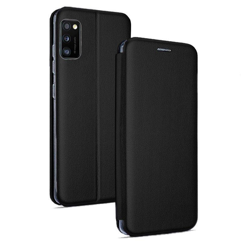 Funda Flip Cover Samsung A415 Galaxy A41 Elegance Negro