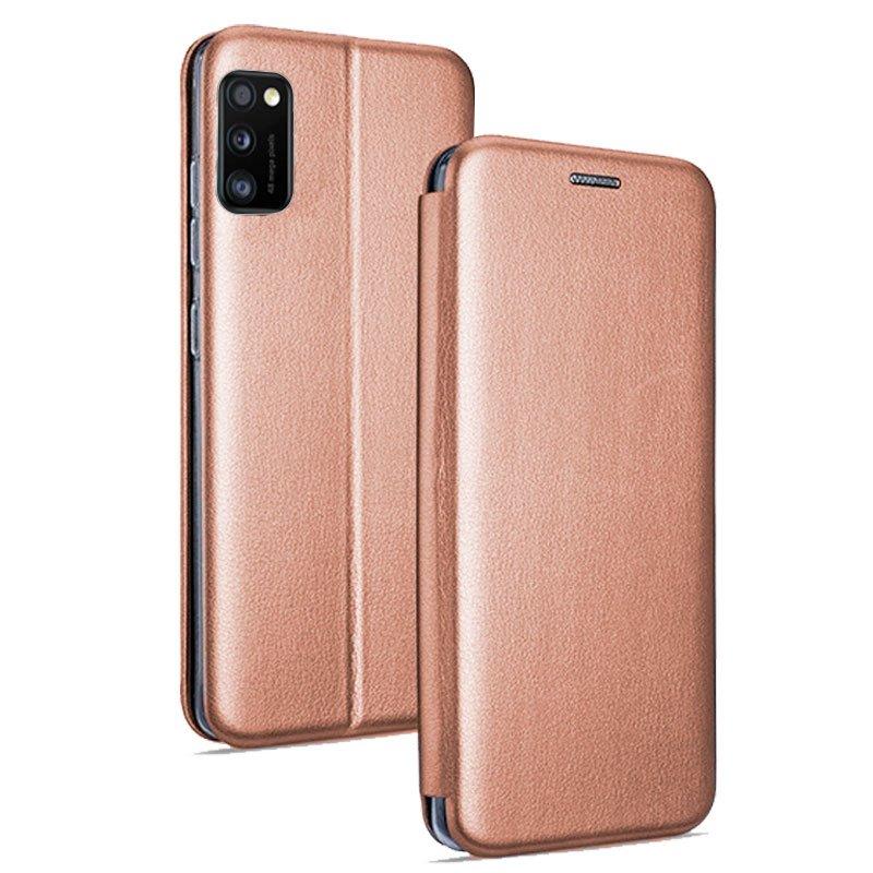 Funda Flip Cover Samsung A415 Galaxy A41 Elegance Rose Gold