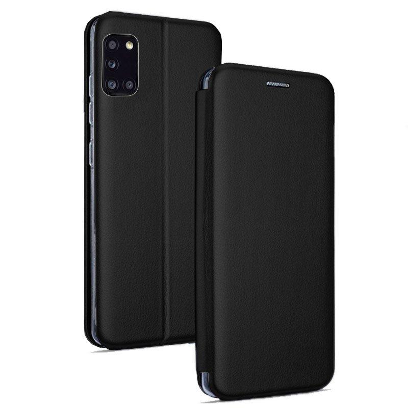 Funda Flip Cover Samsung A315 Galaxy A31 Elegance Negro