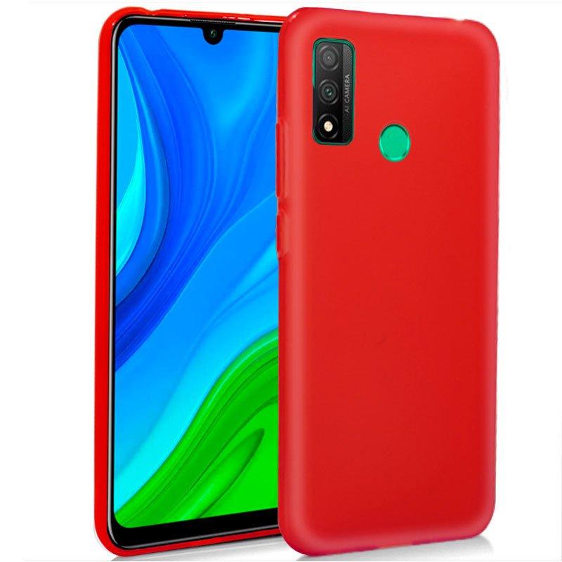 Funda Silicona Huawei P Smart 2020 (Rojo)