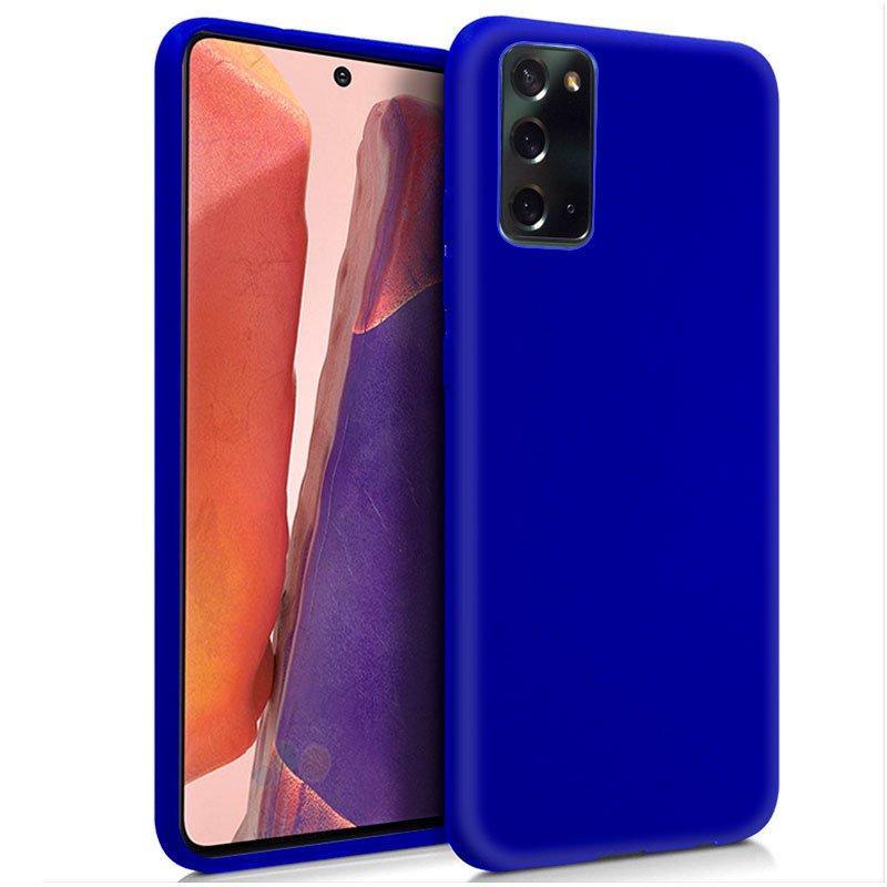 Funda Silicona Samsung N980 Galaxy Note 20 (Azul)