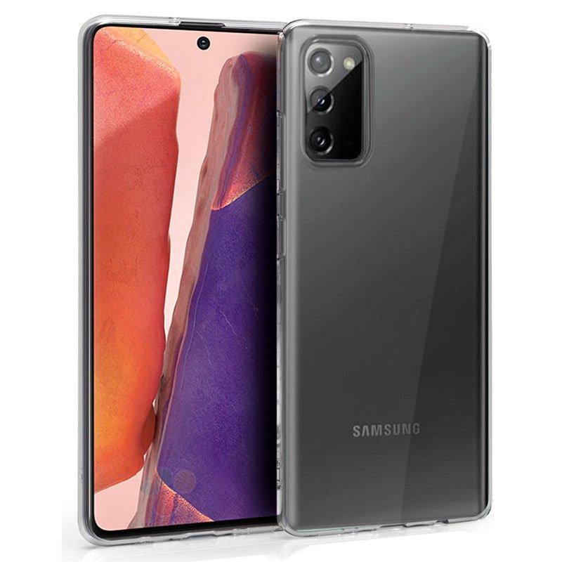 Funda Silicona Samsung N980 Galaxy Note 20 (Transparente)