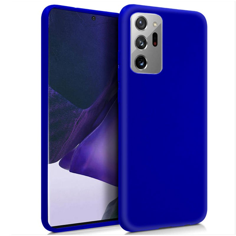 Funda Silicona Samsung N985 Galaxy Note 20 Ultra (Azul)