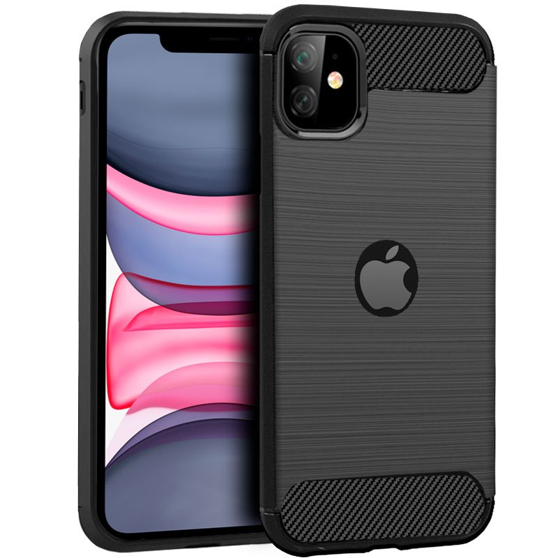 Carcasa iPhone 11 Carbón Negro