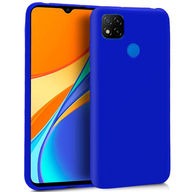 Funda Silicona Xiaomi Redmi 9C (Azul)
