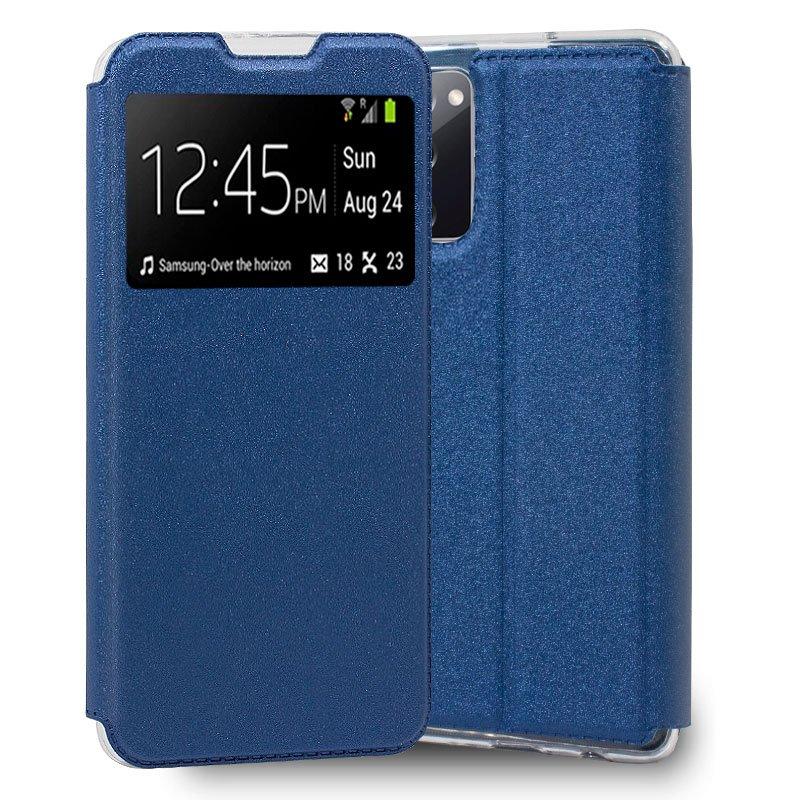 Funda Flip Cover Samsung G780 Galaxy S20 FE Liso Azul