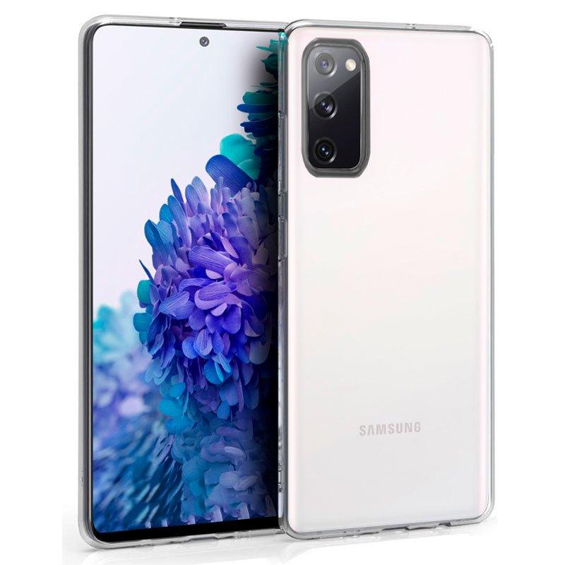 Funda Silicona Samsung G780 Galaxy S20 FE (Transparente)