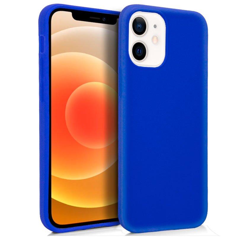 Funda Silicona iPhone 12 mini (Azul)