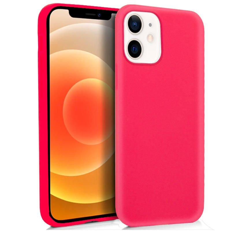 Funda Silicona iPhone 12 mini (Rosa)