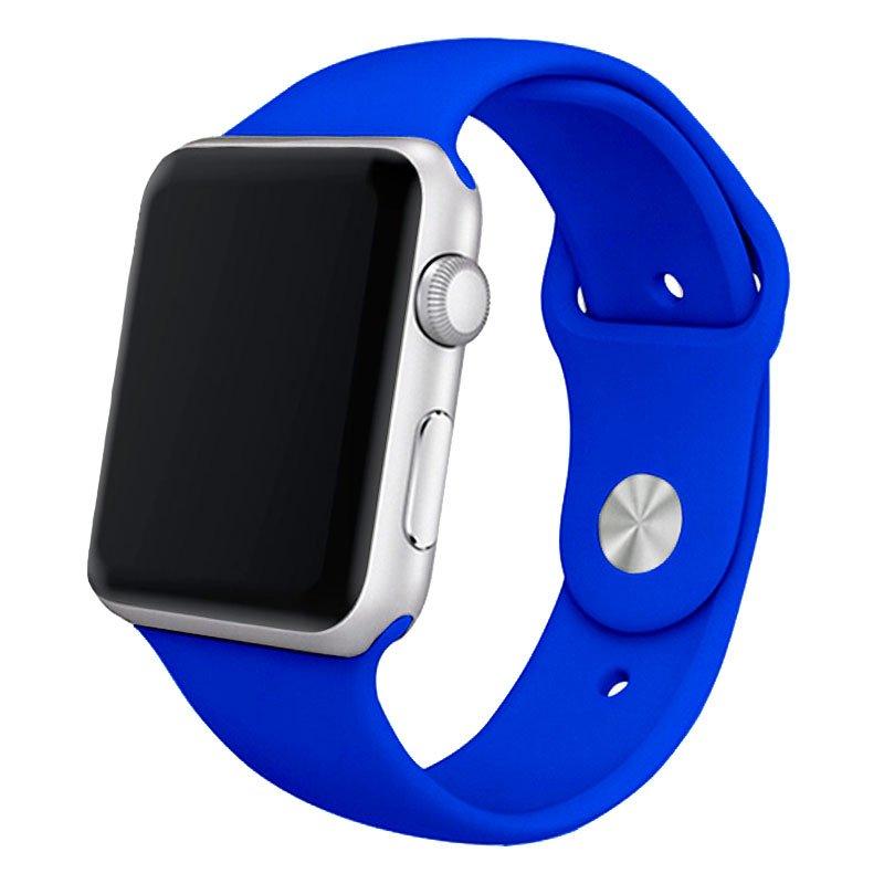 Correa COOL para Apple Watch Series 1 / 2 / 3 / 4 / 5 / 6 / SE (38 / 40 mm) Goma Azul