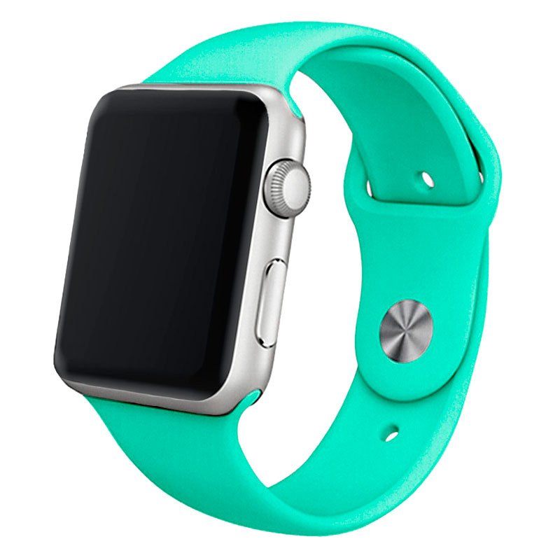 Correa COOL para Apple Watch Series 1 / 2 / 3 / 4 / 5 / 6 / SE (38 / 40 mm) Goma Mint