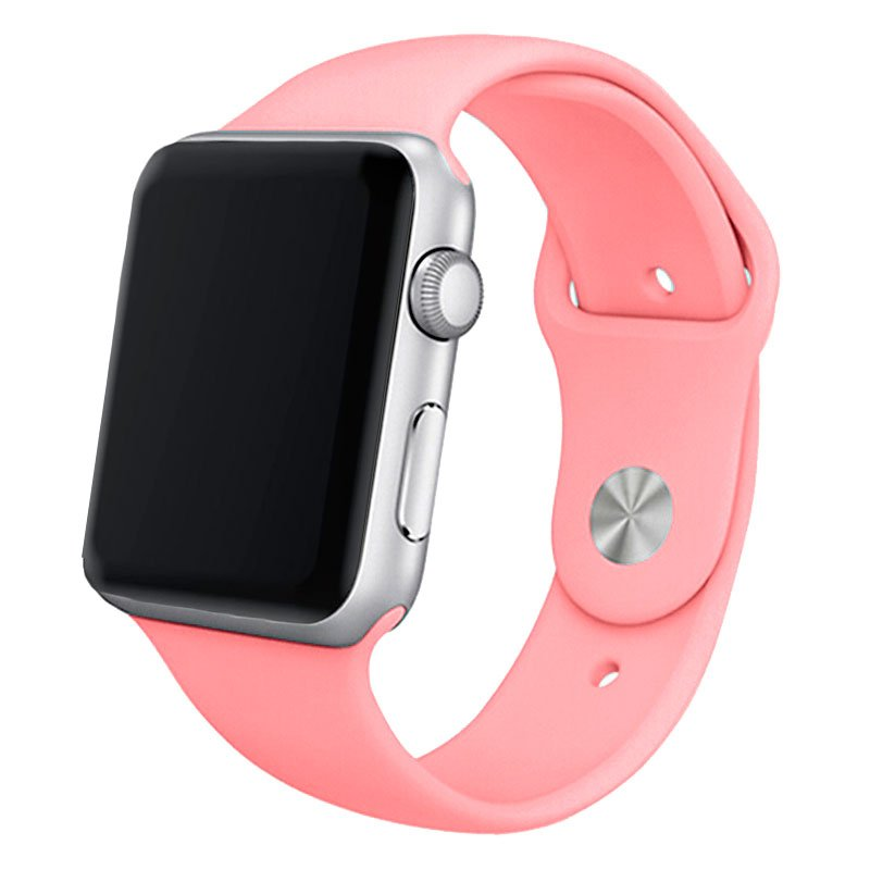 Correa COOL para Apple Watch Series 1 / 2 / 3 / 4 / 5 / 6 / SE (42 / 44 mm) Goma Rosa