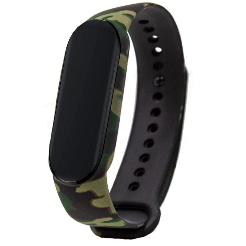 Correa COOL para Xiaomi Mi Band 5 / Amazfit Band 5 Estampado Militar