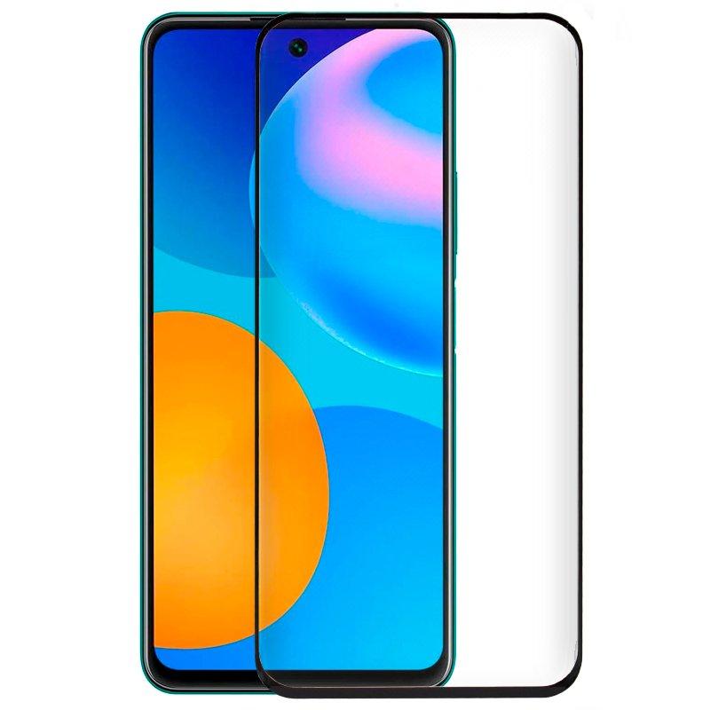 Protector Pantalla Cristal Templado COOL para Huawei P Smart 2021 (FULL 3D Negro)