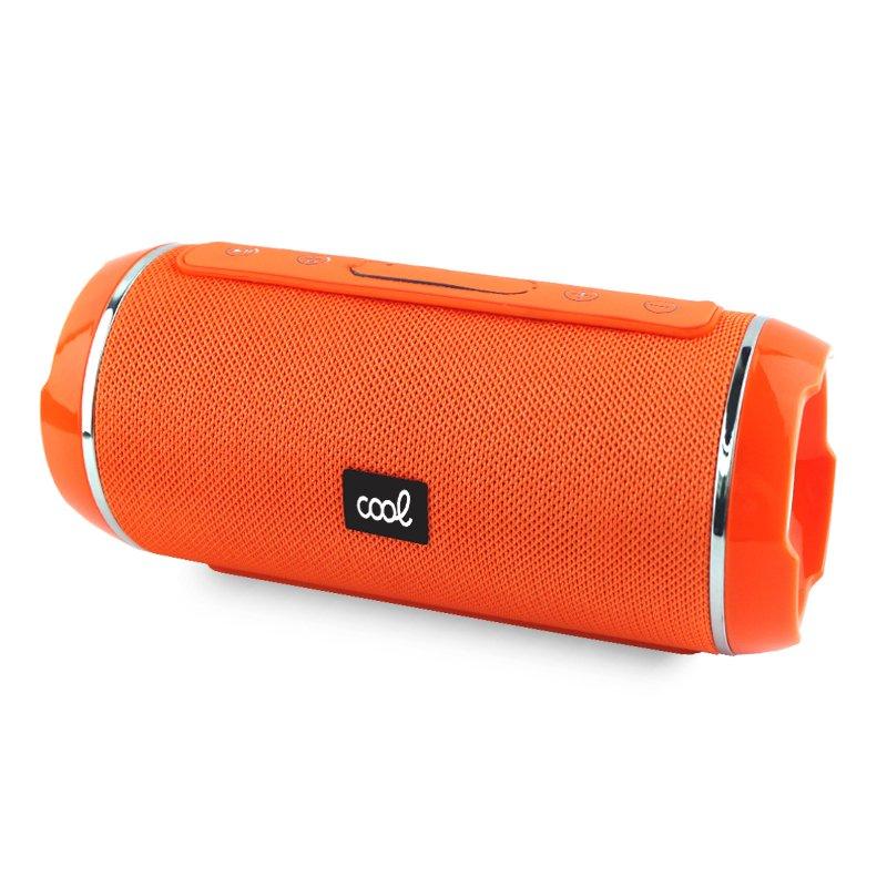 Altavoz Música Universal Bluetooth COOL Amsterdam Naranja (10W)