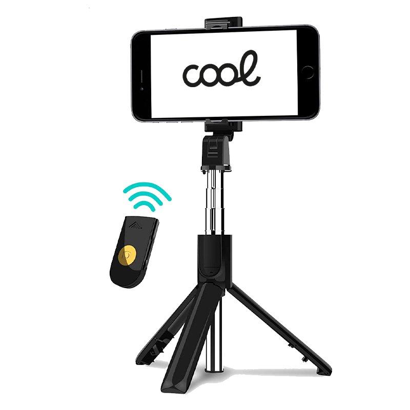 Soporte Trípode Extensible Universal COOL + Mando Selfie Bluetooth
