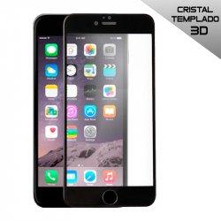 Protector Pantalla Cristal Templado 3D iPhone 6 / 6s (Negro)