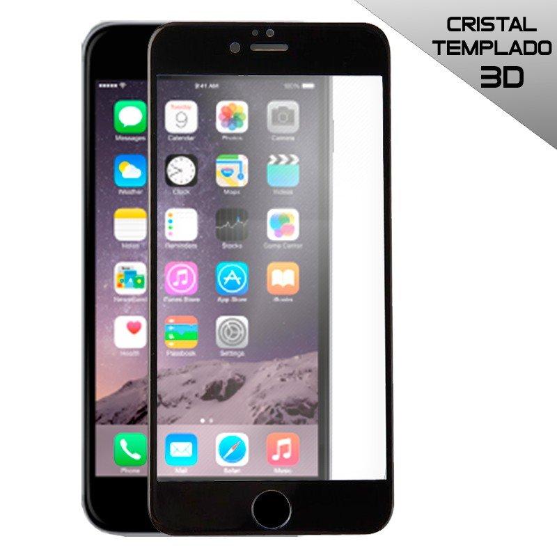 Protector Pantalla Cristal Templado COOL para iPhone 6 Plus / 6s Plus (FULL 3D Negro)