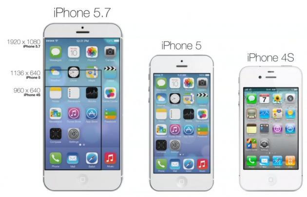 bb5354b031b Al parecer, los planes de la compañía californiana pasarían por lanzar un  segundo modelo de iPhone 6 cuyo tamaño de pantalla alcanzaría las 5,7  pulgadas.