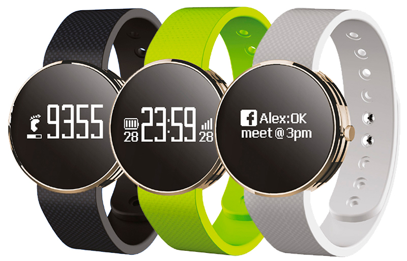 Productos-Leotec-Fitwatch-Negro-con-correas-de-colores-3