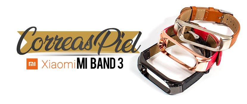 Correas Piel Xiaomi Mi Band 3