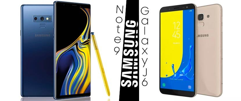 Samsung J600 Galaxy J6 - Samsung Galaxy Note 9
