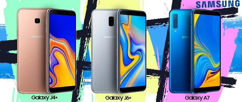 Galaxy J4 Plus - Galaxy J6 Plus - Galaxy A7