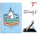 Funda Ebook / Tablet 7 pulgadas Universal Mr Wonderful Azul