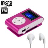 Reproductor MP3 Clip Sport Rosa