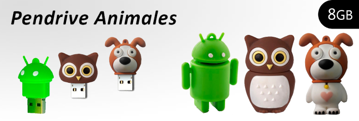 Pendrives Animales